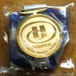 ゴールドメッキメダル
