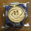 首かけ用(リボン付き)記念メダル制作実績
