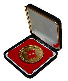 退職記念メダル
