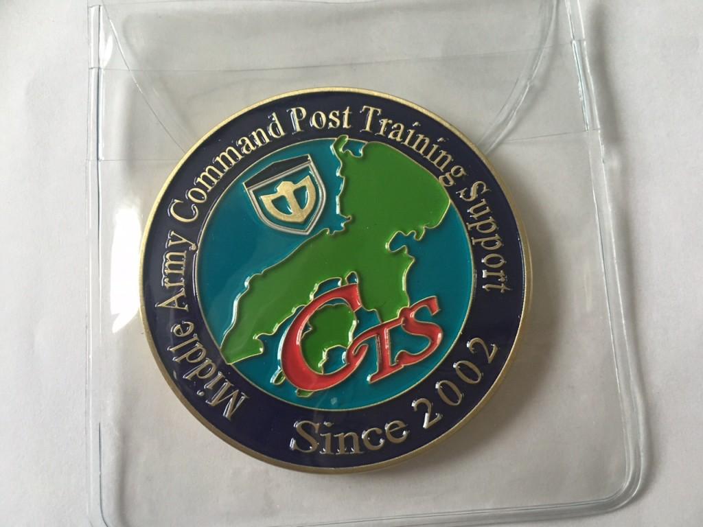 オリジナルメダル完成写真