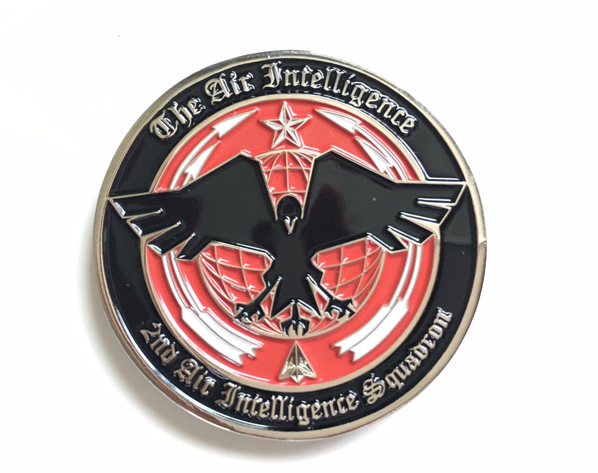 カラーを施して 作成したコイン(記念メダル)(2D型)